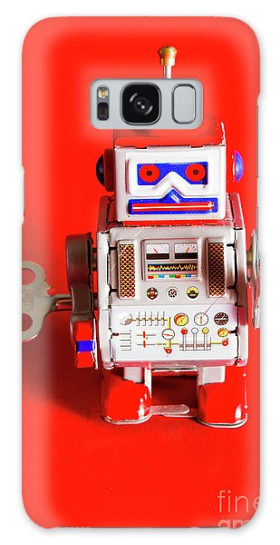 March Galaxy Case - 1970s Wind Up Dancing Robot by Jorgo Photography - Wall Art Gallery