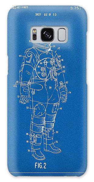 1973 Astronaut Space Suit Patent Artwork - Blueprint Galaxy Case