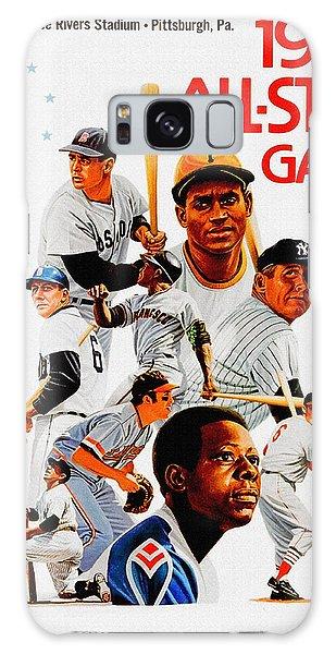 1974 Baseball All Star Game Program Galaxy Case