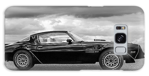 1978 Trans Am In Black And White Galaxy Case
