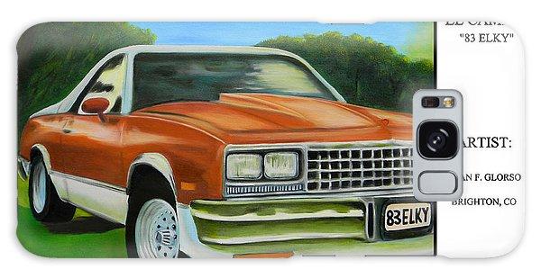 1983 El Camino Poster Galaxy Case