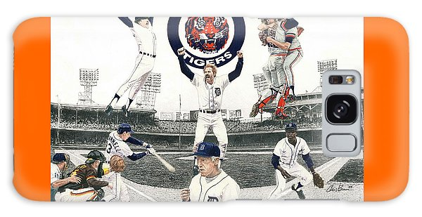1984 Detroit Tigers Galaxy Case