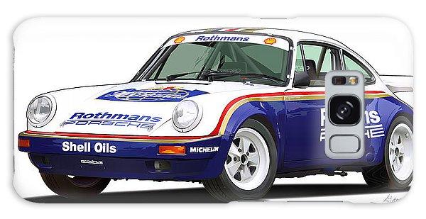 1984 Porsche 911 Sc Rs Illustration Galaxy Case