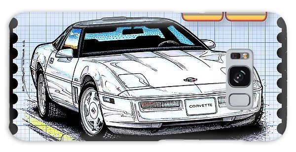 1988 35th Anniversary Special Edtion Corvette Galaxy Case