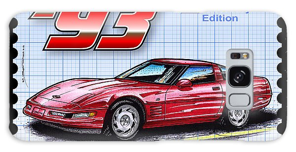 1993 40th Anniversary Edition Corvette Galaxy Case