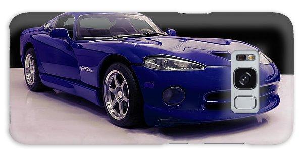 1997 Dodge Viper Gts Blue Galaxy Case by Chris Flees