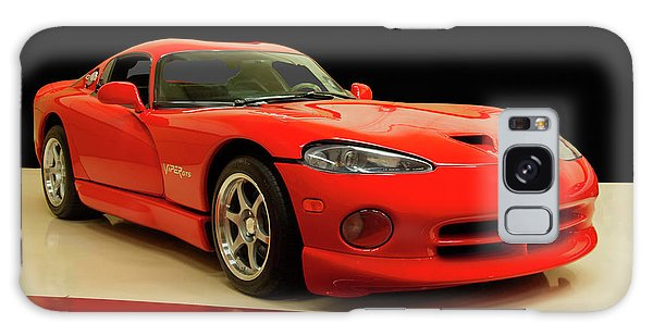 1997 Dodge Viper Gts Red Galaxy Case by Chris Flees