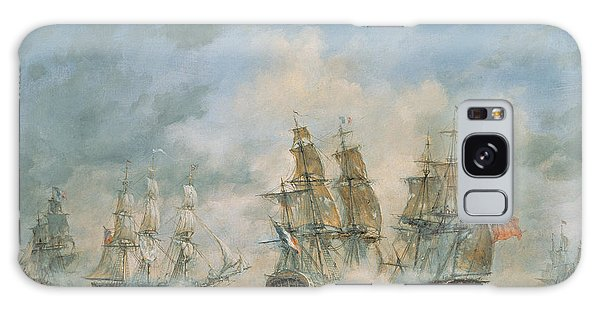 Cannon Galaxy Case - 19th Century Naval Engagement In Home Waters by Richard Willis