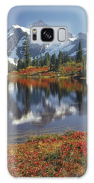 1m4208 Mt. Shuksan And Picture Lake Galaxy Case
