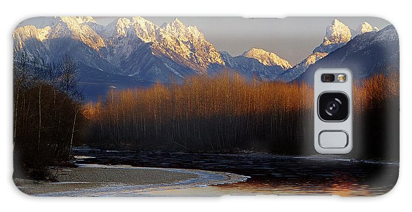1m4525 Skykomish River And West Central Cascade Mountains Galaxy Case