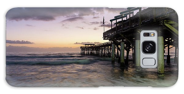 1st Dawn Cocoa Pier Galaxy Case