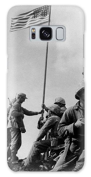 1st Flag Raising On Iwo Jima  Galaxy Case