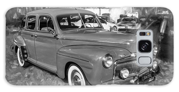Dual Exhaust Galaxy Case - 1942 Ford Super Deluxe Sedan Bw  by Rich Franco