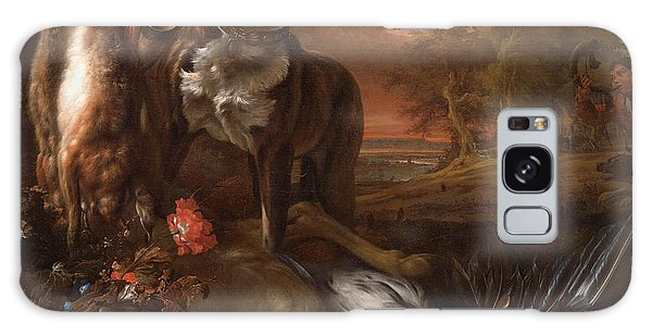 Carcass Galaxy Case - A Deerhound With Dead Game And Implements Of The Chase by Jan Weenix
