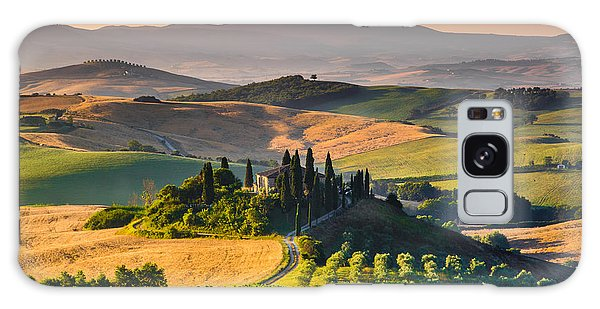 A Morning In Tuscany Galaxy Case