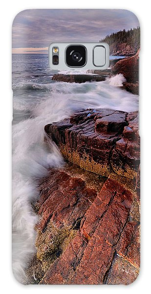 Along The Acadia Coast Galaxy Case