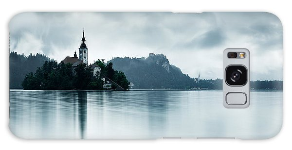 After The Rain At Lake Bled Galaxy Case