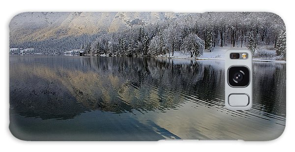 Alpine Winter Reflections Galaxy Case