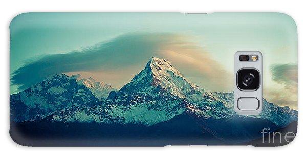 Annapurna South At Sunrise In Himalayas Artmif Photo Raimond Klavins Galaxy Case