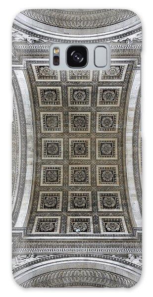 Arc De Triomphe Detail Galaxy Case