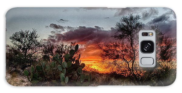 Arizona Sunset Galaxy Case