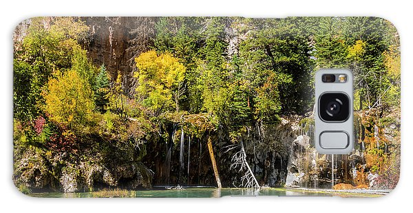 Autumn At Hanging Lake Waterfall - Glenwood Canyon Colorado Galaxy Case