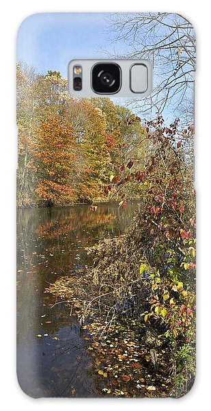 Autumn Colors On The Canal Galaxy Case