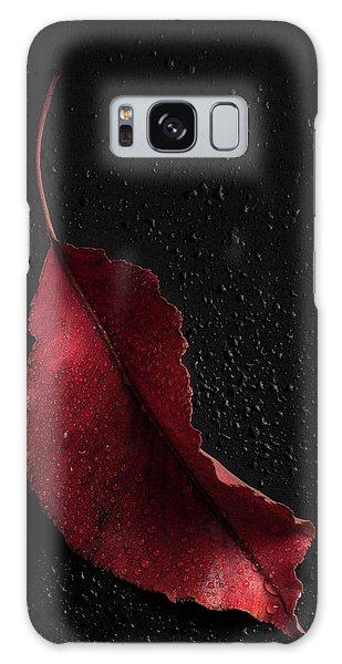Autumn Leaf Galaxy Case