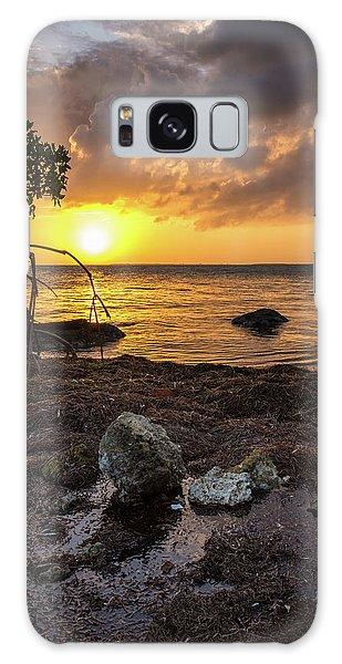 Bahia Honda Sunset Galaxy Case