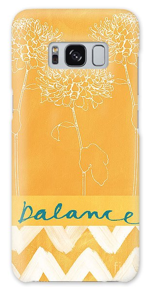 Flowers Galaxy Case - Balance by Linda Woods