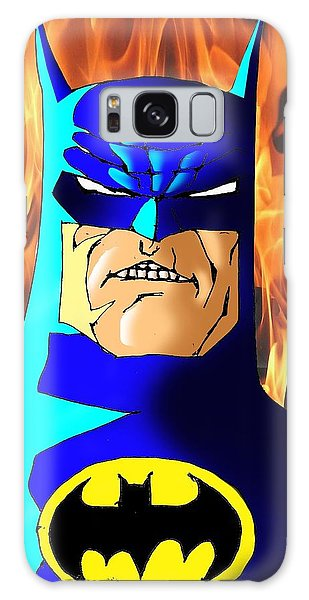 Ben Affleck Galaxy S8 Case - Old Batman by Salman Ravish
