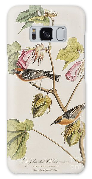 Bay Breasted Warbler Galaxy Case by John James Audubon