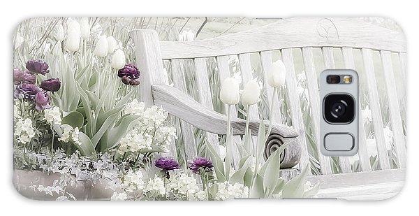 Beauty Of A Spring Garden Galaxy Case
