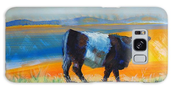 Belted Galloway Cow Galaxy Case
