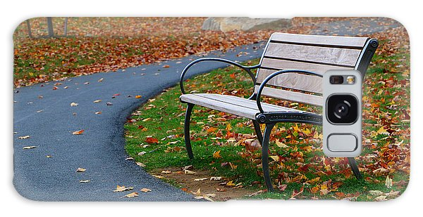 Bench On The Walk Galaxy Case