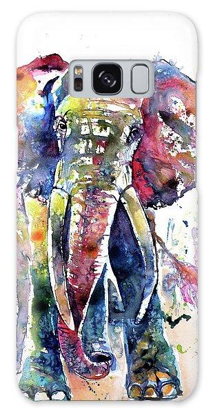 Big Colorful Elephant Galaxy Case