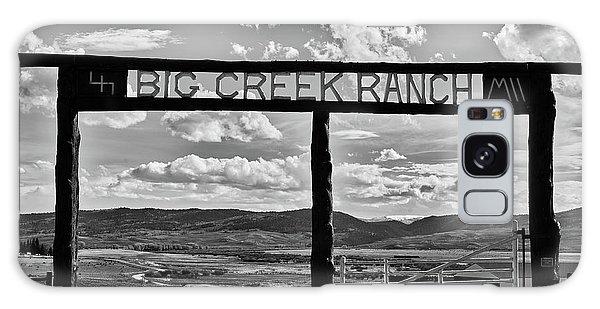 Big Creek Ranch Galaxy Case by L O C