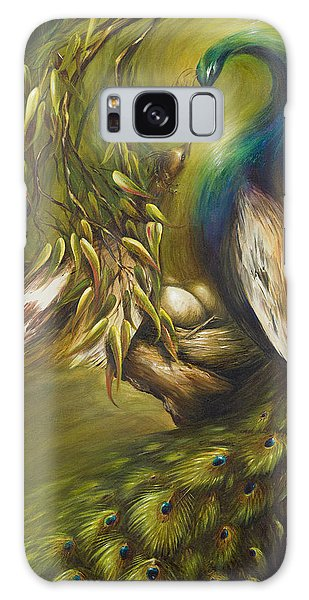 Birds Of A Feather Galaxy Case by Dina Dargo