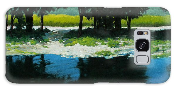 Boat Launch Galaxy Case by Kevin Lawrence Leveque
