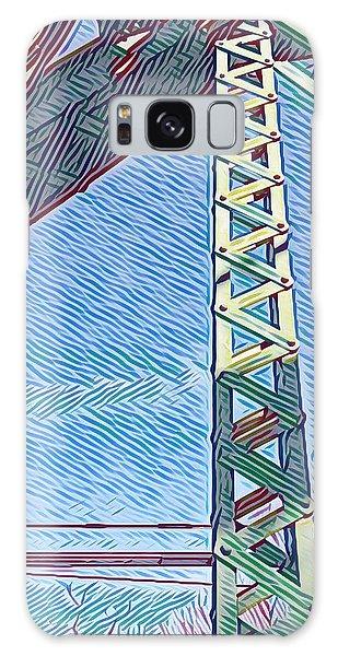 Bridge At Guerneville Galaxy Case
