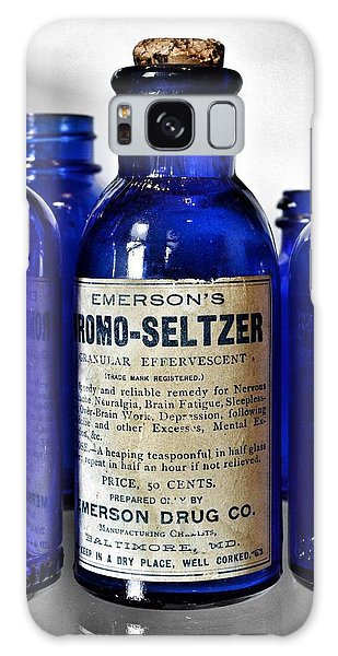 Bromo Seltzer Vintage Glass Bottles Collection Galaxy Case