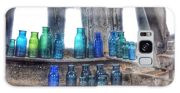 Bromo Seltzer Vintage Glass Bottles  Galaxy Case