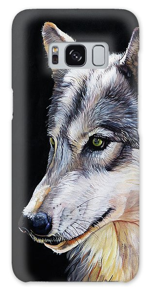 Brother Wolf Galaxy Case