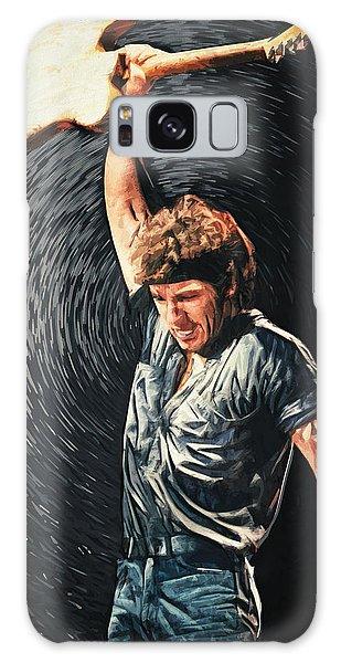 Folk Art Galaxy Case - Bruce Springsteen by Zapista