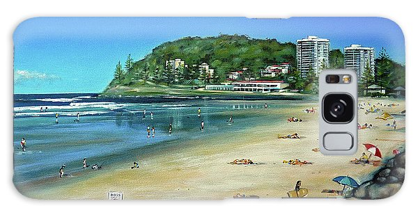 Burleigh Beach 100910 Galaxy Case