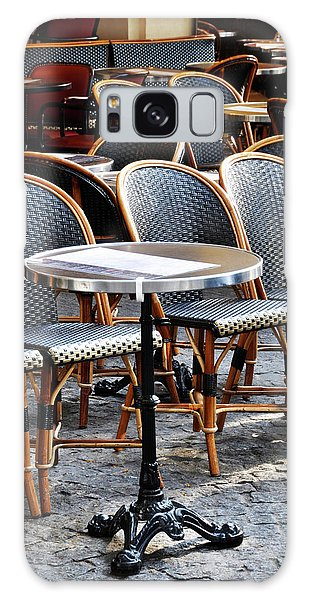 Cafe Terrace In Paris Galaxy Case