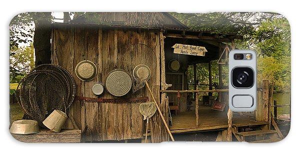 Cajun Cabin Galaxy Case by Ronald Olivier