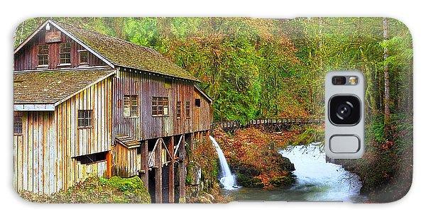 Cedar Creek Grist Mill Galaxy Case by Steve Warnstaff