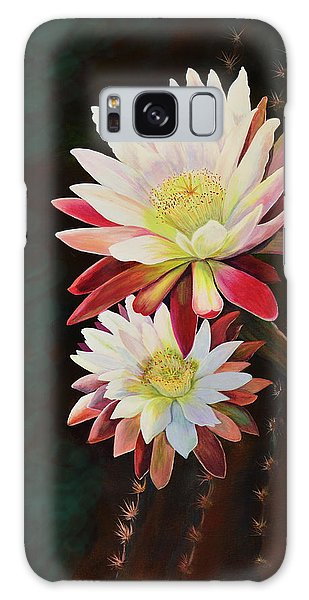 Cereus Business Galaxy Case by Marilyn Smith