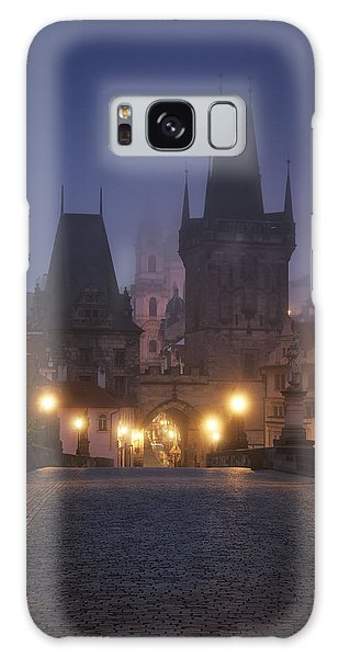 Charles Bridge, Prague, Czech Republic Galaxy Case